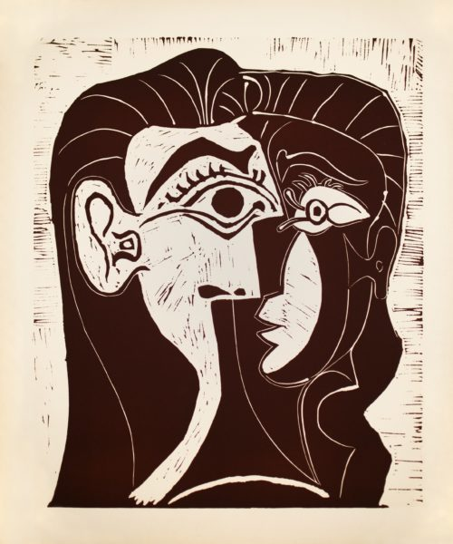 abstract. Jacqueline by picasso