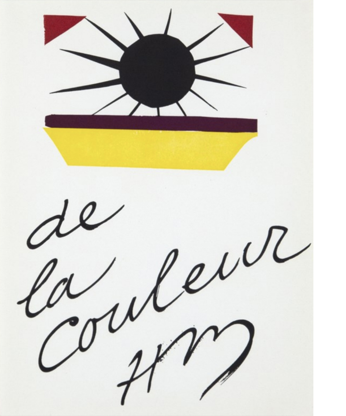 Verve was a modernist Parisian art magazine founded in 1937 to showcase original lithographs by the leading artists of the day, with outstanding technical quality. Henri MATISSE (1869-1954) Verve Vol. 4, No. 13: De la couleur, 1945
