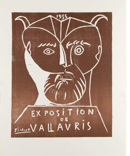 Exposition de Vallauris Poster by Pablo Picasso
